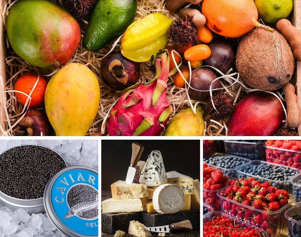 Свежие ягоды и экзотические фрукты могут быть на вашем столе круглый год!