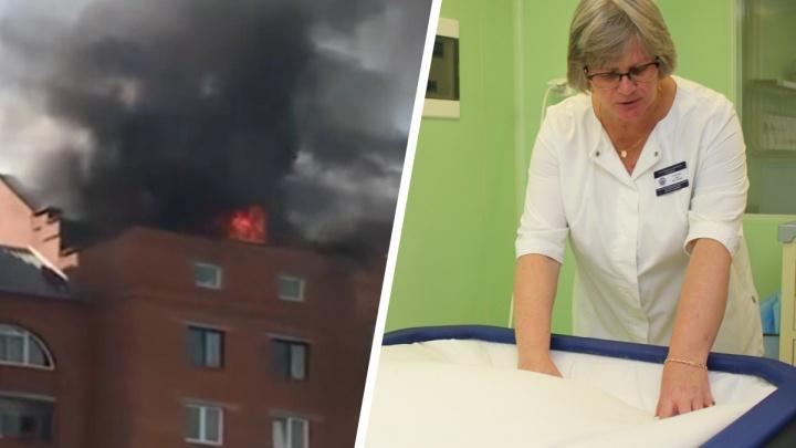 «Два месяца провел под ИВЛ»: челябинские врачи спасли рабочего, обгоревшего при пожаре в высотке за «Родником»