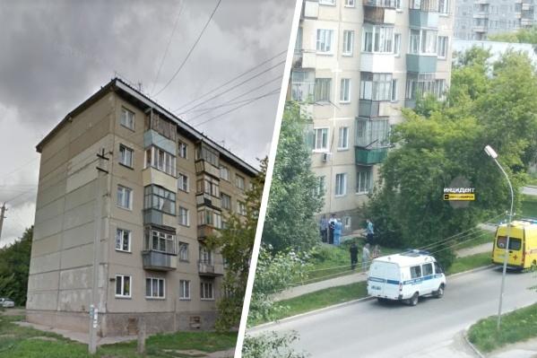 Тело выпавшей из окна женщины обнаружили возле дома по улице Молодости, 6