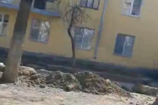 Волгоградские общественники пытаются сохранить бордюры на улице Социалистической