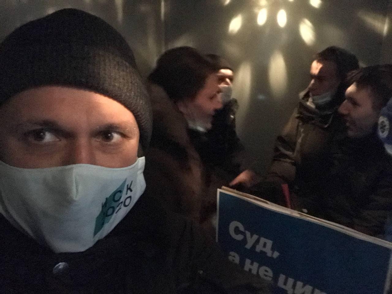 Также сегодня задержали депутата Антона Картавина
