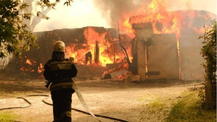 В Екатеринбурге для борьбы с пожарами дополнительно привлекли несколько десятков спасателей