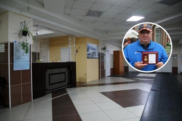 Владимир Бочкарёв пришел работать в Центр зимних видов спорта, оставив должность руководителя парка «Берёзовая роща»