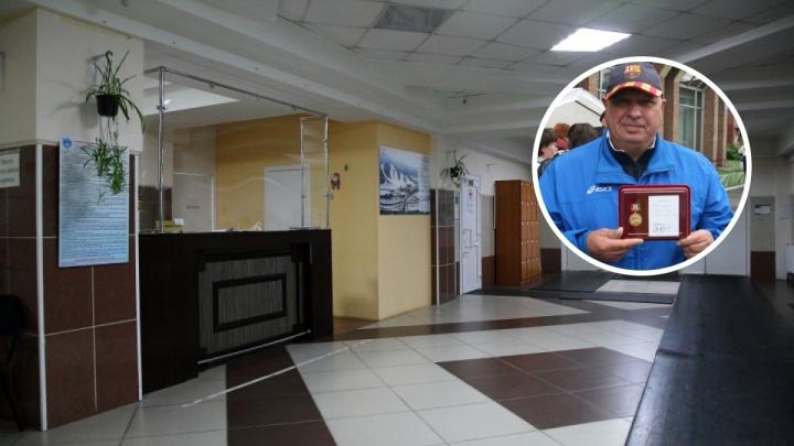 В Новосибирске арестовали директора Центра зимних видов спорта