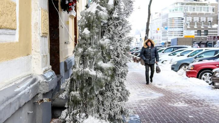 Прогноз погоды: нижегородцев ждет очень холодная рабочая неделя