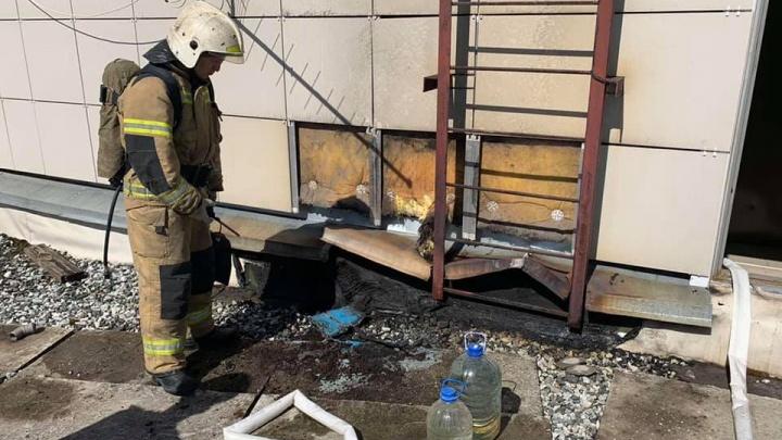 В Перми загорелась крыша музея PERMM