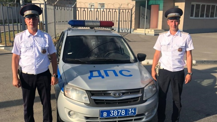 Волгоградские полицейские спасли жизнь ребенку из Башкирии