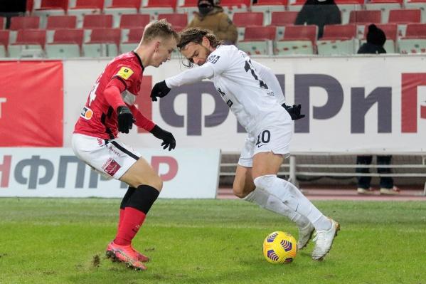 «Урал» впервые пропустил пять мячей от «Спартака»