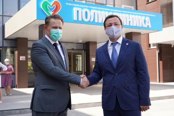 Министр здравоохранения России 3 августа прибыл в Самарскую область с рабочим визитом
