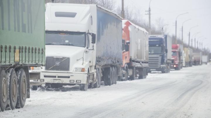Снегопад устроил в Волгограде транспортный коллапс