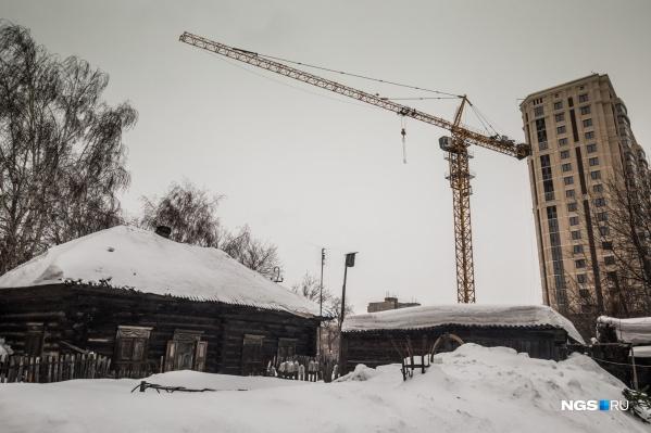 Небольшой частный сектор на улице Калинина в скором времени сократится еще на 4 участка