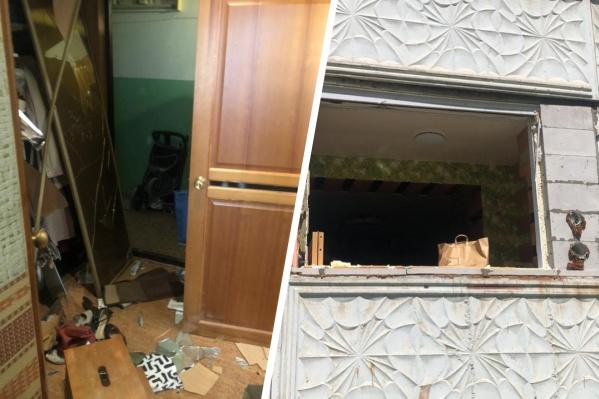 """Инцидент произошел днем в <nobr class=""""_"""">1-м</nobr> переулке Римского-Корсакова"""