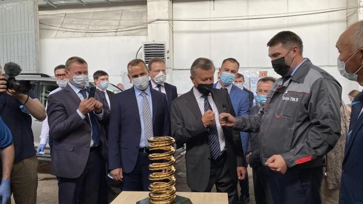 Курганскую область посетил спецпредставитель Владимира Путина