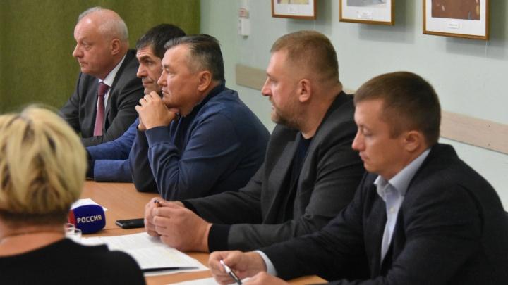 Валерий Сухих поднял вопрос берегоукрепления в Осе
