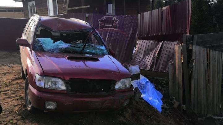 Пьяная женщина на «Субару» устроила смертельную аварию с переворотом