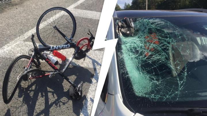 Еще одна трагедия на ЕКАД: женщина за рулем Nissan Qashqai насмерть сбила велосипедиста