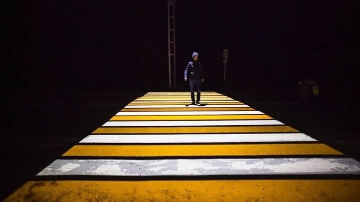 В Минтрансе рассказали, что нужно для установки проекционных «зебр» на дорогах Самары