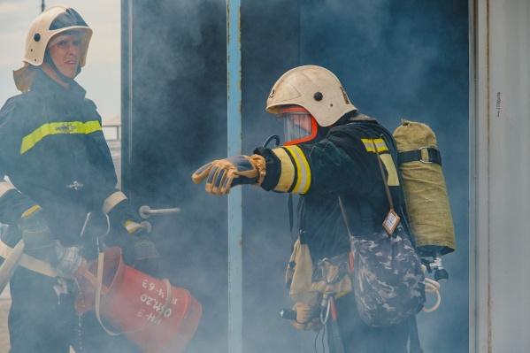 Отдельное подразделение противопожарной службы создано для максимальной защиты предприятия от возможных происшествий
