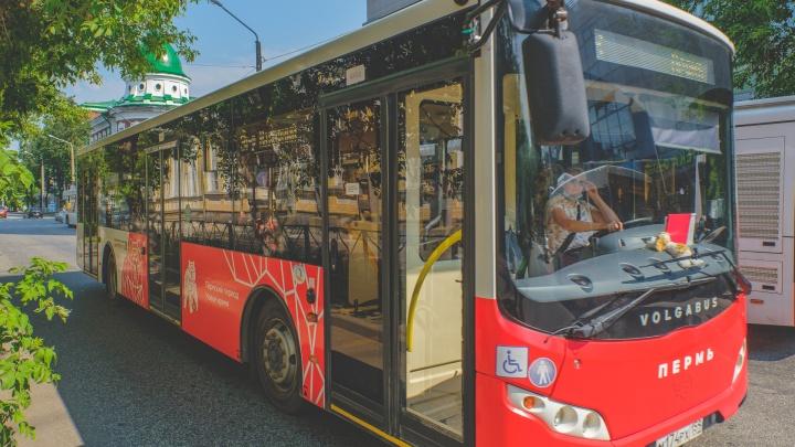 Дептранс Перми добавит автобусы на загруженные маршруты