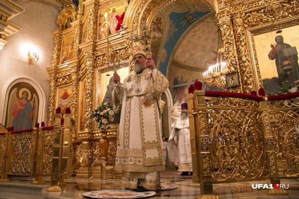 Благословение на молитву о дожде дал митрополит Уфимский и Стерлитамакский