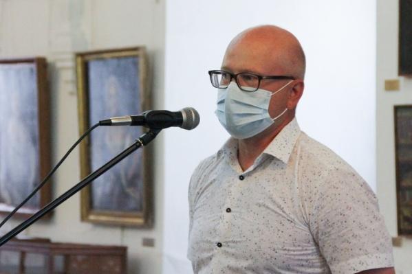 Александра Филяева представили сотрудникам музея