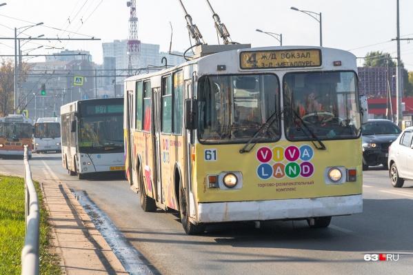 """Троллейбусный маршрут <nobr class=""""_"""">№ 4</nobr> — один из списка"""