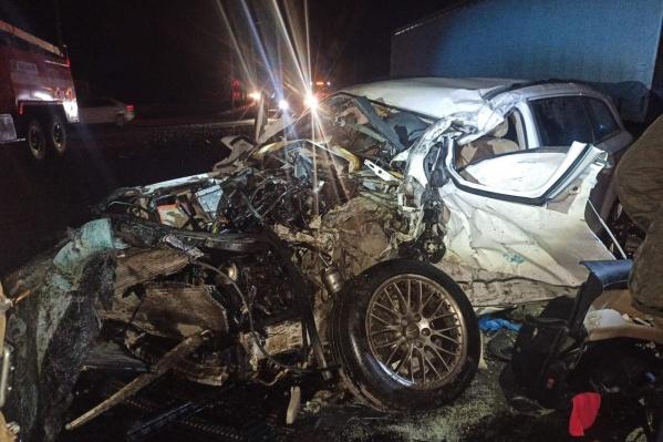 """У водителя иномарки было <nobr class=""""_"""">15 нарушений</nobr> ПДД за два года, но ДТП спровоцировал не он"""