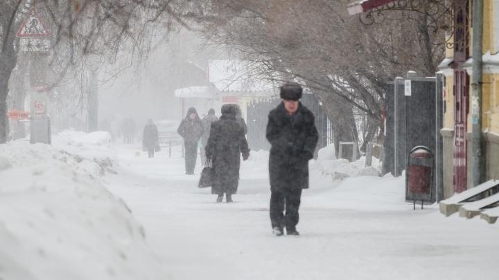 Сильный снег и метель: МЧС предупредило пермяков об ухудшении погоды