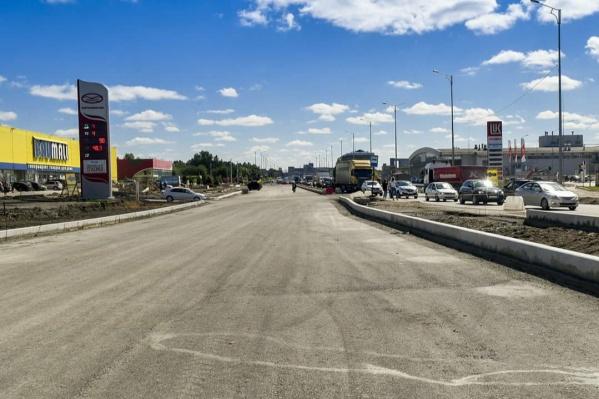 На улице Героев Хасана завершается ремонт