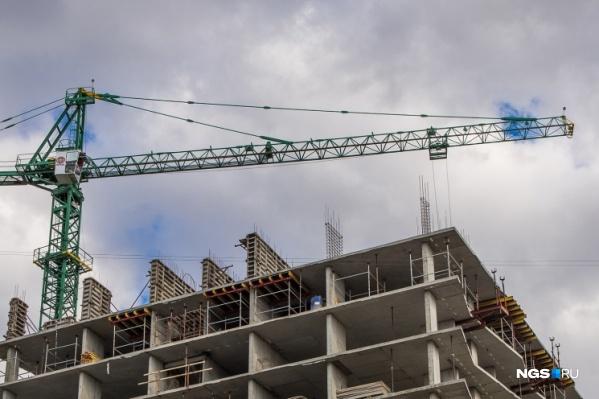 Строительство домов для дольщиков не завершено