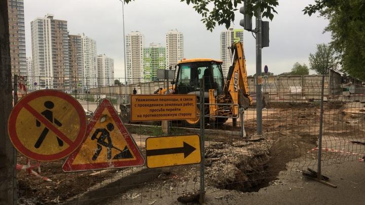 В Перми готовятся открыть въезд в ЖК «Арсенал» с улицы Чернышевского