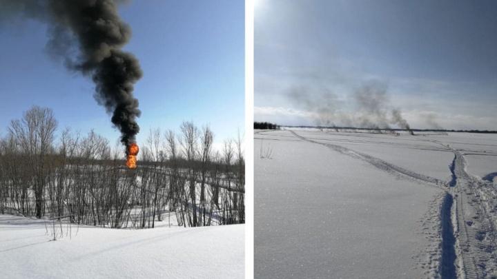 В Сургуте, крупнейшем городе ХМАО, запретили выход на Обь из-за аварии на трубопроводе «Сибур»