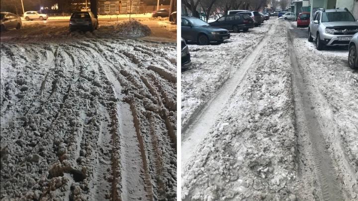 Красноярцам рассказали, как наказать управляющую компанию за неубранный снег