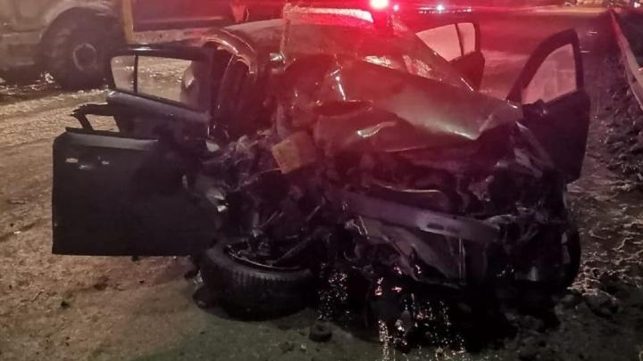 На Чусовском мосту в ДТП погибла молодая женщина