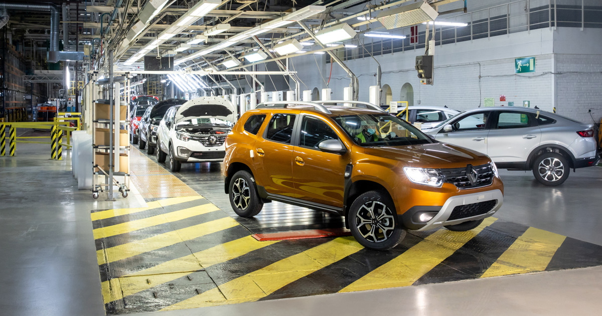 В конце января на московском заводе Renault стартовал выпуск нового поколения кроссовера Duster
