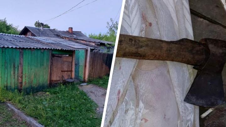 Пенсионер из Заводоуковска зарубил молодую девушку