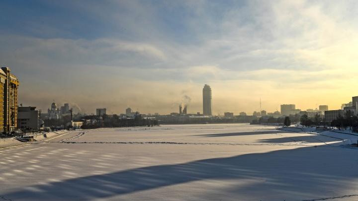 В первой половине недели в Екатеринбург вернутся крепкие морозы