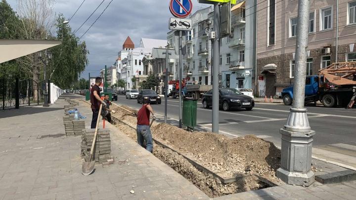Избавить улицу Куйбышева от проводов обещают к 15 августа