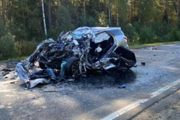 Водитель «Тойоты» умер, не дождавшись медиков