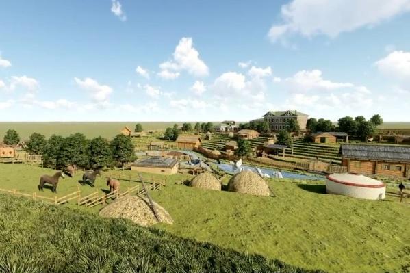 Музей планируется с национальным колоритом