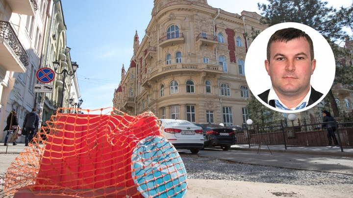 Логвиненко представил нового директора департамента автодорог Ростова