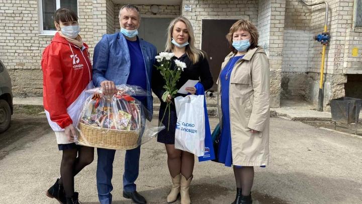 Активисты раздадут жителям Прикамья 60 тысяч георгиевских лент