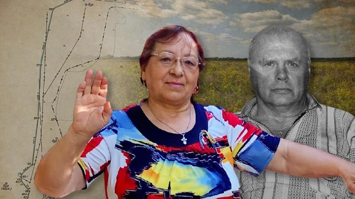 «Муж умер, не выдержав несправедливости»: вдова обвинила крупного латифундиста в захвате земли под Волгоградом