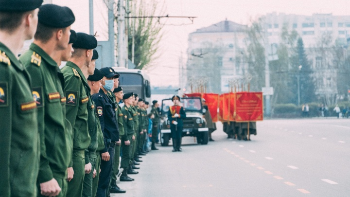 Легкая техника и 20 расчетов: как будет проходить парад Победы на Соборной площади