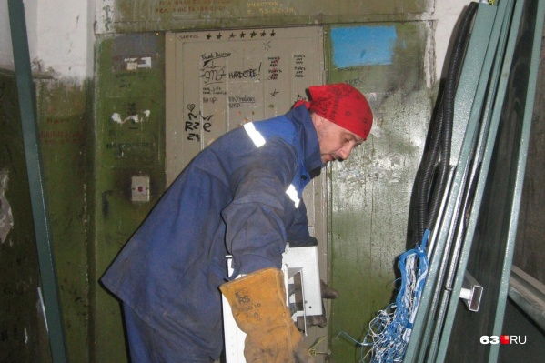 В Самаре почти половина лифтов уже нуждается в замене
