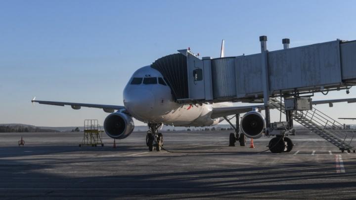 В Самаре экстренно сел самолет, выполнявший рейс из Екатеринбурга