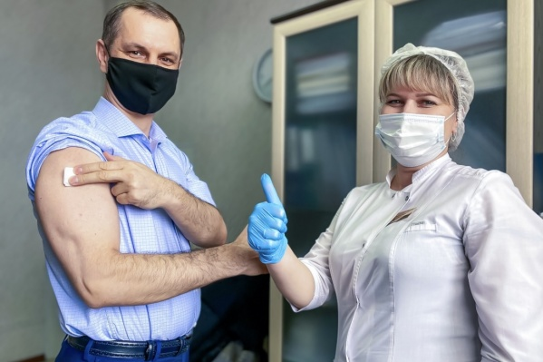 Работники предприятия получают вакцину без очередей и ожидания