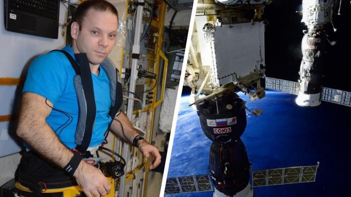 Иван Вагнер в прямом эфире ответил на вопросы читателей 29.RU про родной Север и полет в космос