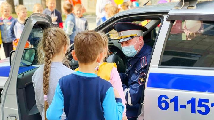 Главный автоинспектор Свердловской области провел урок в школе