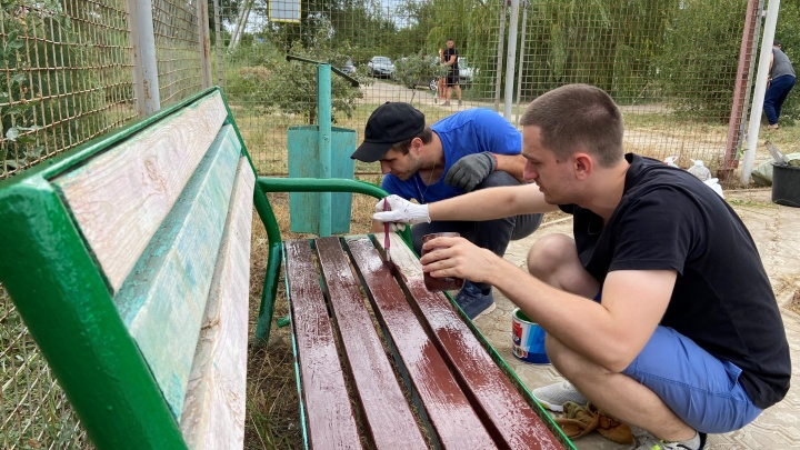 Молодые специалисты «ЕвроХима» подарили Котельниково обновленный сквер
